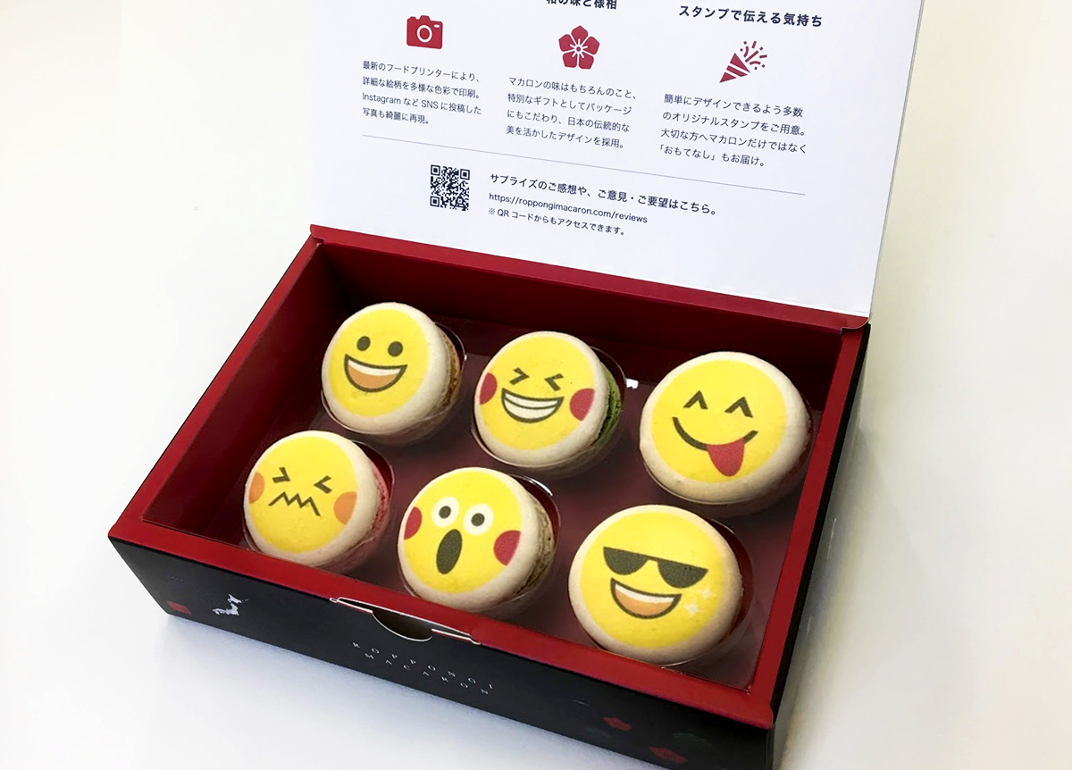 Display emoji 6set